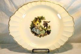 """Sebring Pottery Serenade #1K-G.F.E. Oval Platter 13 1/4"""" - $11.77"""