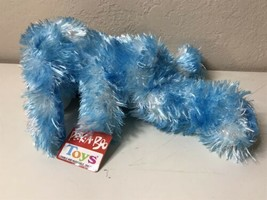 "NEW! Peek A Boo Toys Blue and White 12""  Dog, Soft Plush,  New With Tags - $14.80"