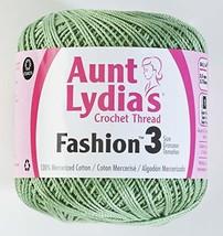 Coats Crochet Fashion Crochet Thread, 3, Sage - $5.58