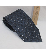Mens Neck Tie Pierre Cardin USA Made Shades Blue & White Abstract Geomet... - $7.91
