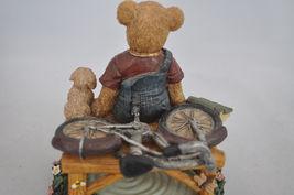 Beary Hill Bears - Boy With Bike - Classic Figurine image 8