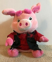 Gemmy Wild Thing Dancing & Singing Pink Pig Tested & Working - $16.82