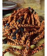 25 Orange & Black Camo Titanium Sports Necklaces Lot - $18.69