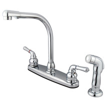 Magellan Centerset Kitchen Faucet,Matching Side Sprayer, Chrome - $61.73