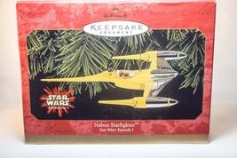Hallmark: Naboo Starfighter - Star Wars: Episode 1 - 1999 - Keepsake Orn... - $11.18