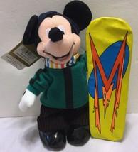 "NWT Disney Store Exclusive Snowboard 8"" Mini Bean Bag  Sports Snow X Gam... - $29.44"