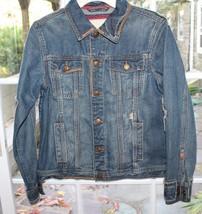 Aeropostale Women Denim Jean Jacket  Distressed Size Medium M - $15.84