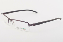 Tag Heuer 821 003 Automatic Chocolate Brown Eyeglasses 0821-003 56mm - $224.42