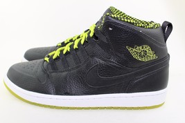 JORDAN 1 RETRO 94 BLACK VENOM GREEN SIZE 11.0 NEW AUTHENTIC RARE - $118.79