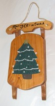Wooden Sled Holiday Decoration - ₨653.16 INR