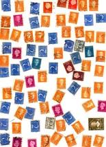 Stamps- Netherlands -European Postage - Netherlands (80 vintage stamps) - $2.95