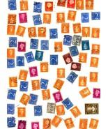 Stamps- Netherlands -European Postage - Netherlands (80 vintage stamps) - $1.95