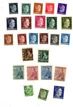 Stamps - Germany- European Postage -Germany (25 vintage stamps) image 1