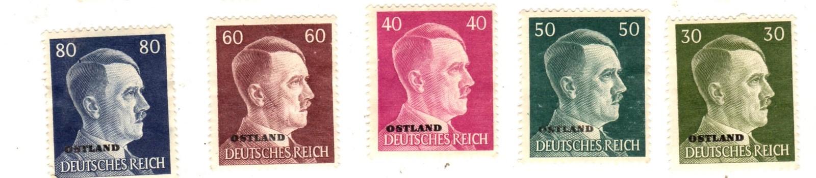 Stamps - Germany- European Postage -Germany (25 vintage stamps) image 3