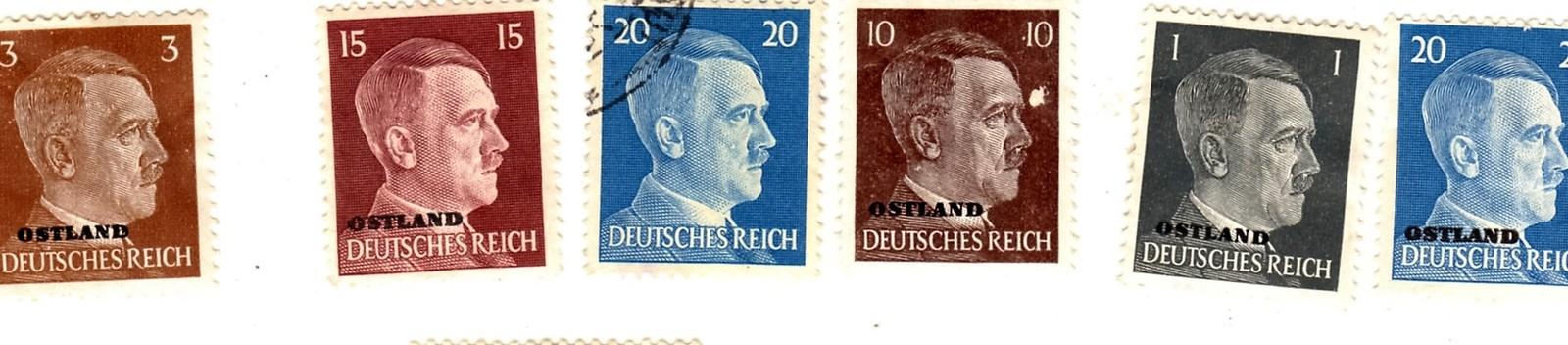 Stamps - Germany- European Postage -Germany (25 vintage stamps) image 4