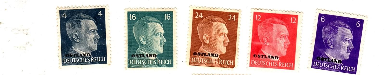 Stamps - Germany- European Postage -Germany (25 vintage stamps) image 6