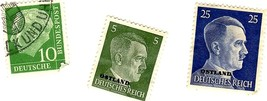 Stamps - Germany- European Postage -Germany (25 vintage stamps) image 8