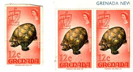 Sramps - Caibbean Postage  -Grenada (3 - 12 Cent Stamps) - $1.25
