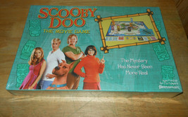 Scooby Doo The Movie Board Game 2002 Pressman Sealed - $19.58