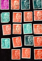 Stamps- Spanish Postage from Spain - (19 Stamps - Correos Espana) - $1.35