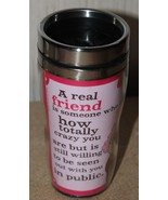 NEW AUNTY ACID FRIENDSHIP FRIENDS KNOW UR CRAZY HUMOROUS FUNNY TRAVEL CO... - $9.74