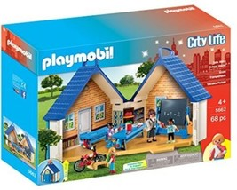 Creative Build Holiday Christmas Gift Toy Kids Playmobil Take Along Pla... - $51.38