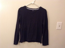The Limited L 100% Cotton Black Long Sleeve Shirt Good Condition