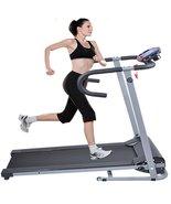 Goplus 500w Folding Portable Electric Treadmill... - $195.02