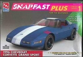 AMT/Ertl 1996 Corvette Grand Sport 1/25 SnapFast MISB - $19.76