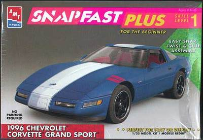 AMT/Ertl 1996 Corvette Grand Sport 1/25 SnapFast MISB