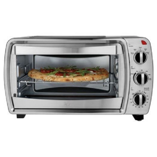oster 174 6 slice convection countertop oven small kitchen