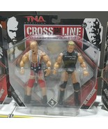 TNA Kurt Angle & Mr. Anderson Action Figure Wrestling Cross The Line Ser... - $49.40