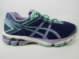 Asics GT 1000 v 4 Size US 8 M (B) 39.5 Women's Running Shoes Purple Teal T5A7N