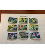 San Marino Flowers mnh 1953    stamps  - $59.95