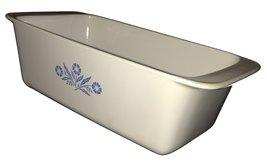 Corning Ware Cornflower Blue Bread Pan, Meatloaf Pan, P-315-B - $34.63