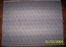 """New Black and White with Tulips 100% Cotton Fabric 26.5"""" x 42"""" Piece - $5.50"""
