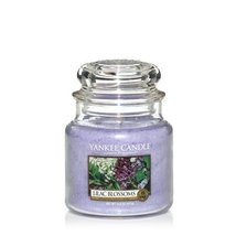 Yankee Candle Lilac Blossoms Medium Jar Candle, Floral Scent - $19.99