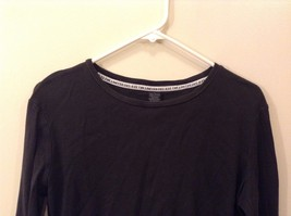 The Limited L 100% Cotton Black Long Sleeve Shirt Good Condition image 2