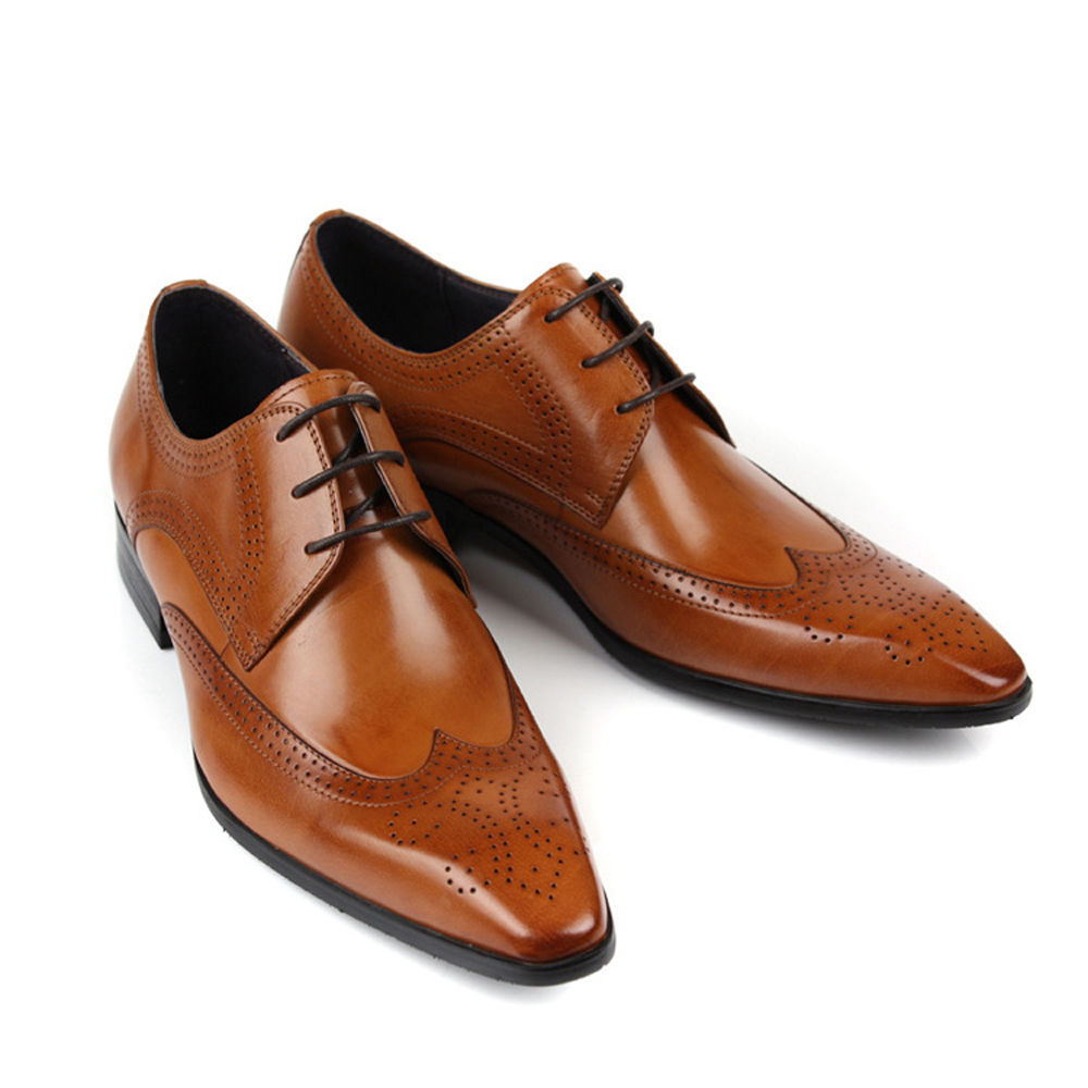 Tan Color Dress Shoes
