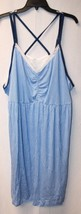 NEW CACIQUE WOMENS PLUS SIZE 4X 26/28 BLUE STRI... - $21.28