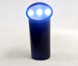 Pivoting Head Flashlight, 3 LEDs, Stand-up Base, 90 Degree Range ~ Black... - $185,84 MXN