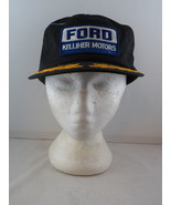 Vintage Patched Trucker Hat - Ford Kellher Motors Canada - Adult Snapback - $39.00