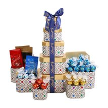 Lindt Chocolates Holiday Gift Tower - $51.93