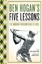 Ben Hogan's Five Lessons Paperback - $12.16