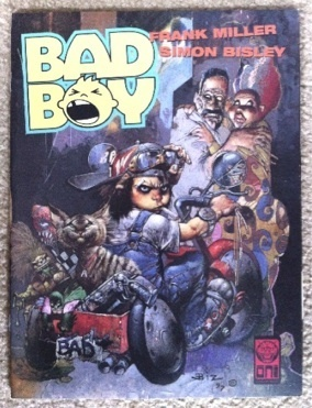 BAD BOY #1 NM -comic~Kid wants to get to Reality, by Miller & Bisley !