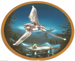Star Wars Collector Plate Imperial Shuttle Spac... - $49.95