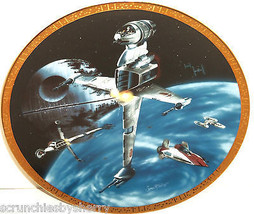 Star Wars Collector Plate B-wing Fighter Space ... - $49.95