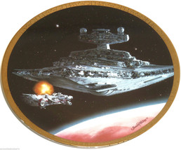 Star Wars Collector Plate Star Destroyer Space ... - $49.95