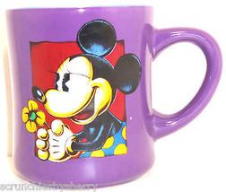 Disney Minnie Mouse Coffee Mug Cup Purple - $49.95