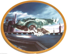 Star Wars Collector Plate The Slave I Space Veh... - $49.95
